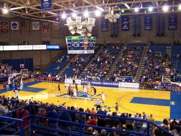 Alumni Arena (University at Buffalo), section: 202, row: D, seat: 14