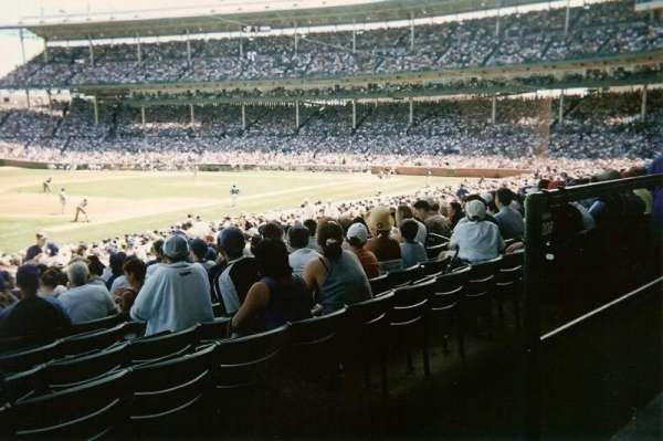 Wrigley Field, section: 207, row: 1, seat: 22