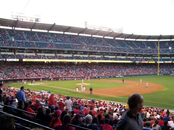 Angel Stadium, section: T226, row: B, seat: 19