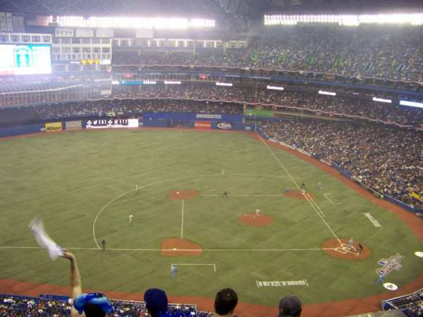 Rogers Centre, section: 530R, row: 11, seat: 9