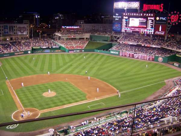 Nationals Park, section: 316, row: A, seat: 9