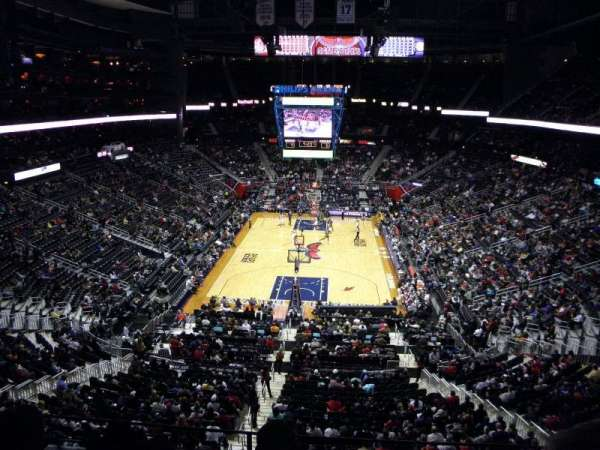 State Farm Arena, section: 203, row: C, seat: 7