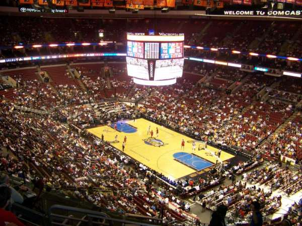 Wells Fargo Center, section: 204, row: 10, seat: 17