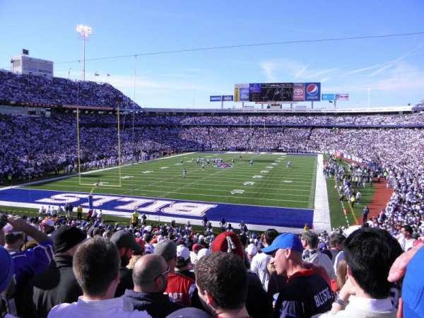 New Era Field, section: 120, row: 36, seat: 12