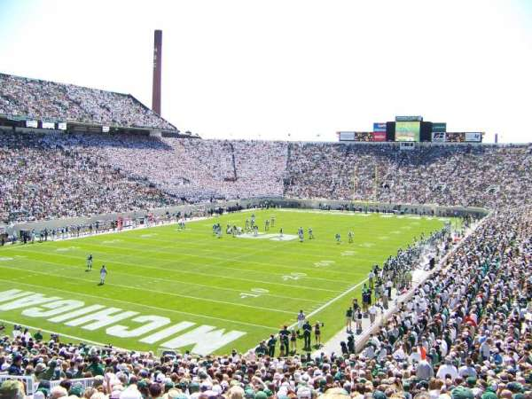 Spartan Stadium, section: 29, row: 42, seat: 22