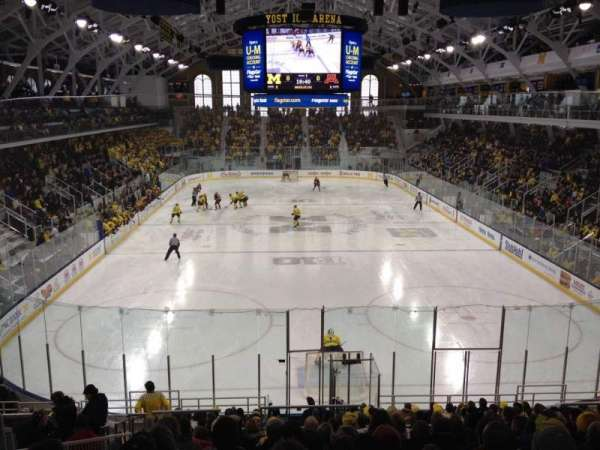 Yost Ice Arena, section: 26, row: 17, seat: 15