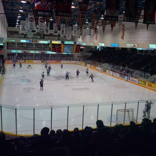 Peterborough Memorial Centre, section: 17, row: O, seat: 2