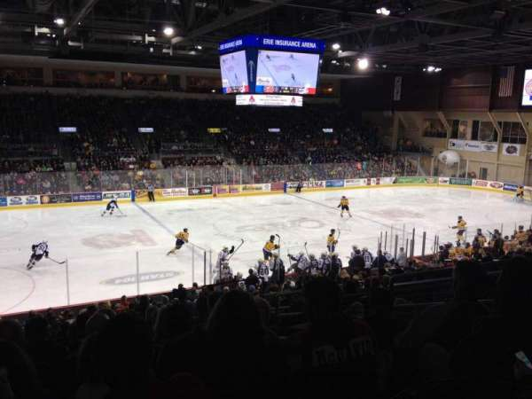 Erie Insurance Arena, section: 217, row: X, seat: 6