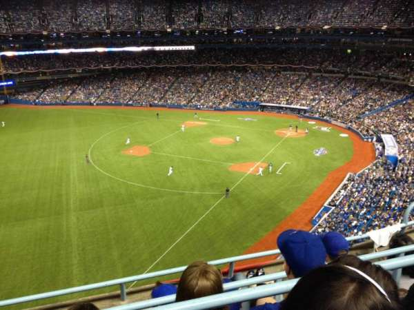 Rogers Centre, section: 537L, row: 4, seat: 105
