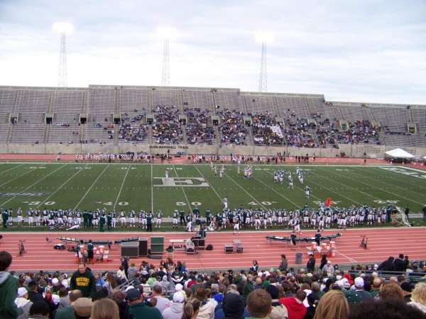 Rynearson Stadium, section: 105, row: II, seat: 26