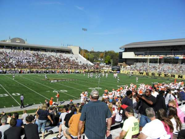 Waldo Stadium, section: F, row: 5, seat: 25