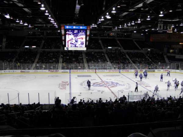 Blue Cross Arena, section: 223, row: E, seat: 9