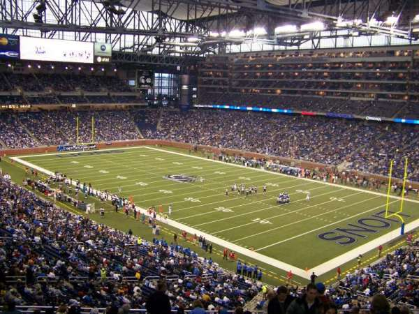 Ford Field, section: 112, row: 40, seat: 23