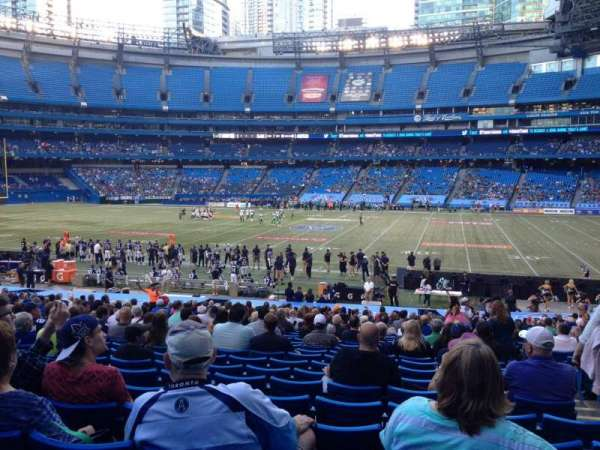 Rogers Centre, section: 109A, row: 35, seat: 103