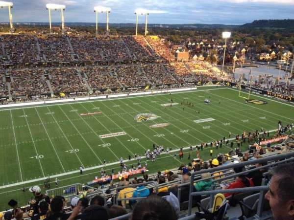 Tim Hortons Field, section: 208, row: 17, seat: 3