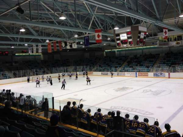 Waterloo Memorial Recreation Complex, section: C, row: J, seat: 4