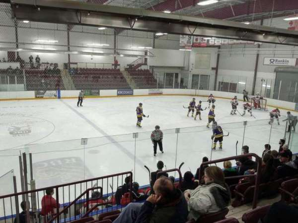 Seymour-Hannah Sports & Entertainment Centre, section: J, row: J, seat: 5