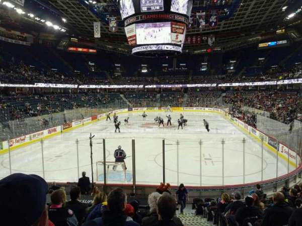 Scotiabank Saddledome, section: 104, row: 15, seat: 20