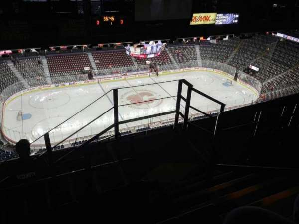 Scotiabank Saddledome, section: PL8, row: 7, seat: 16