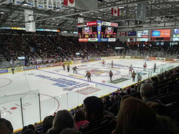 Barrie Molson Centre, section: 104, row: 13, seat: 6