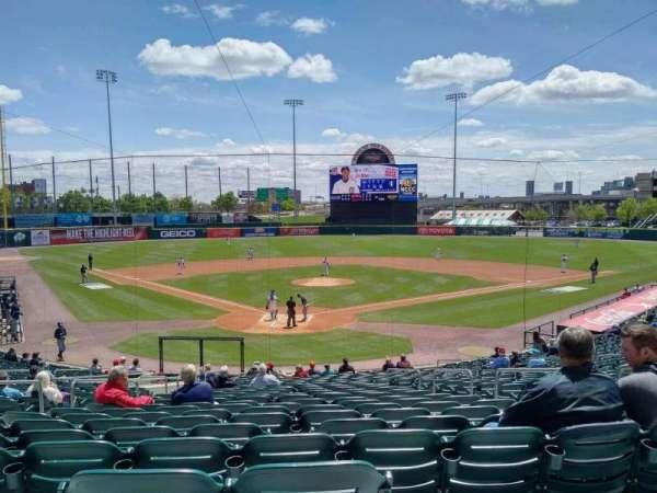 Sahlen Field, section: 102, row: AA, seat: 1