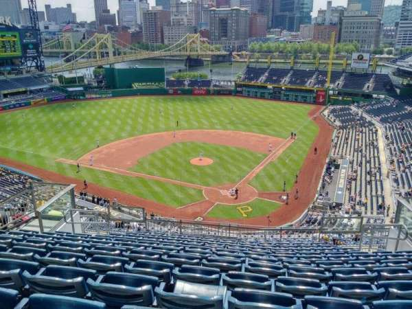 PNC Park, section: 318, row: Q, seat: 10