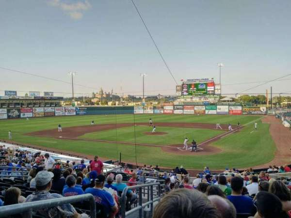 Principal Park, section: 9, row: 11, seat: 21