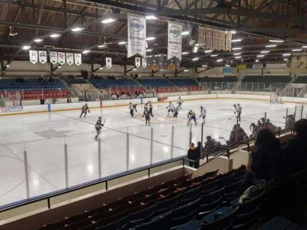 Kingston Memorial Centre, section: 17, row: H, seat: 16