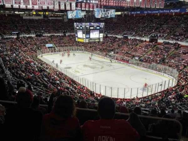 Joe Louis Arena, section: 203B, row: 17, seat: 18