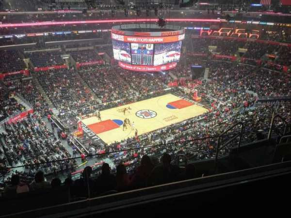 Staples Center, section: 304, row: 7, seat: 9