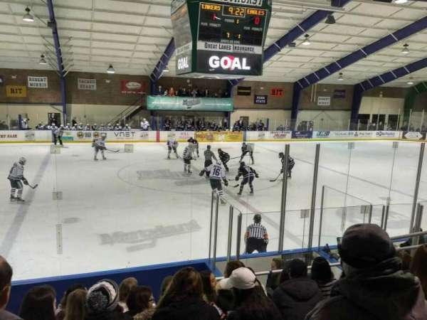 Mercyhurst Ice Center, section: GA