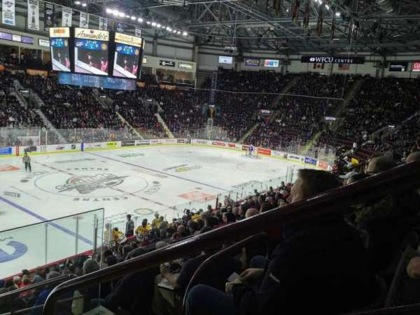 WFCU Centre, section: 118, row: P, seat: 1