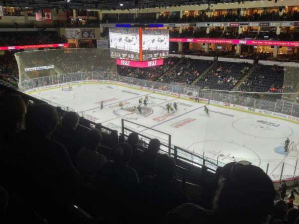 PPL Center, section: 201, row: 9, seat: 4