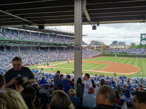 Wrigley Field, section: 226, row: 14, seat: 4