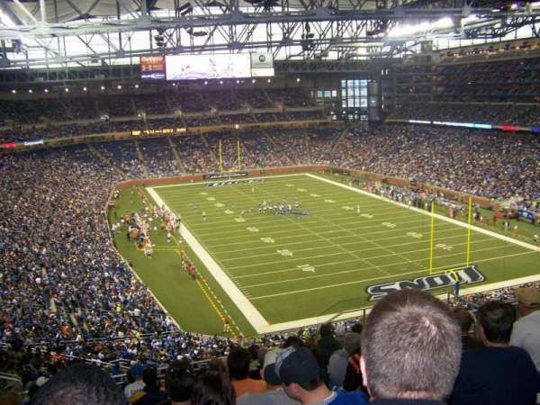 Ford Field, section: 341, row: 12, seat: 13