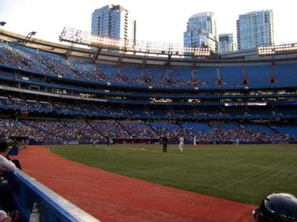 Rogers Centre, section: 113, row: 1, seat: 1