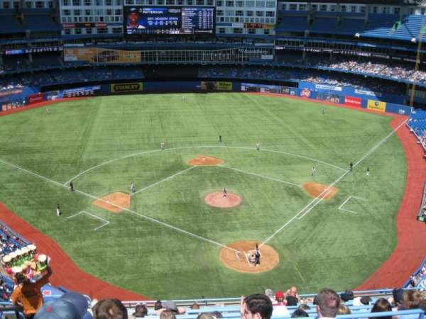 Rogers Centre, section: 525R, row: 12, seat: 6