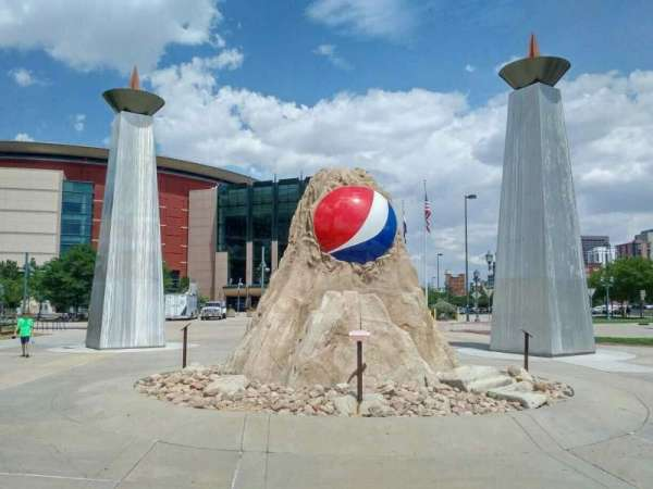 Pepsi Center, section: exterior