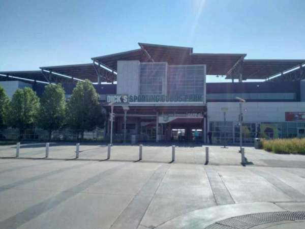 Dick's Sporting Goods Park, section: exterior