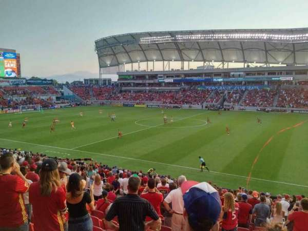 Rio Tinto Stadium, section: 36, row: Z, seat: 5