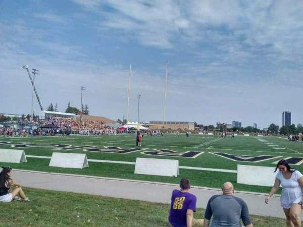 Warrior Field, section: Berm