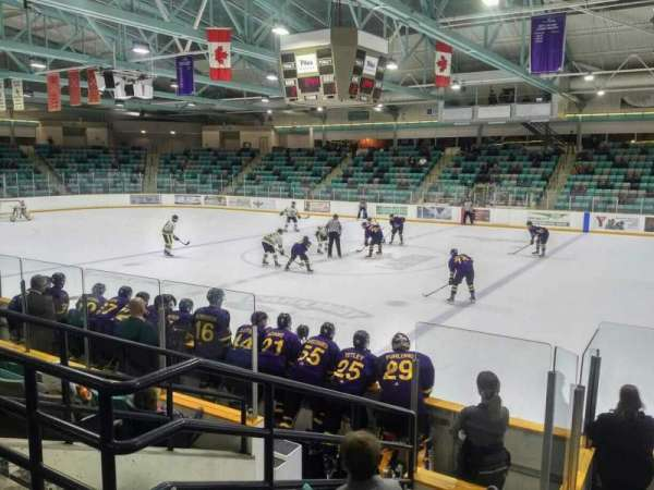 Waterloo Memorial Recreation Complex, section: 3, row: G, seat: 1