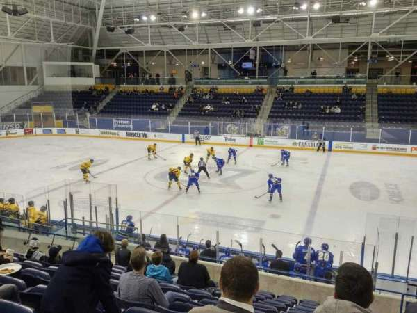 Mattamy Athletic Centre at the Gardens, section: E5, row: L, seat: 4
