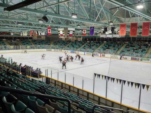 Waterloo Memorial Recreation Complex, section: 1, row: L, seat: 18