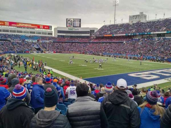 New Era Field, section: 105, row: 25, seat: 12