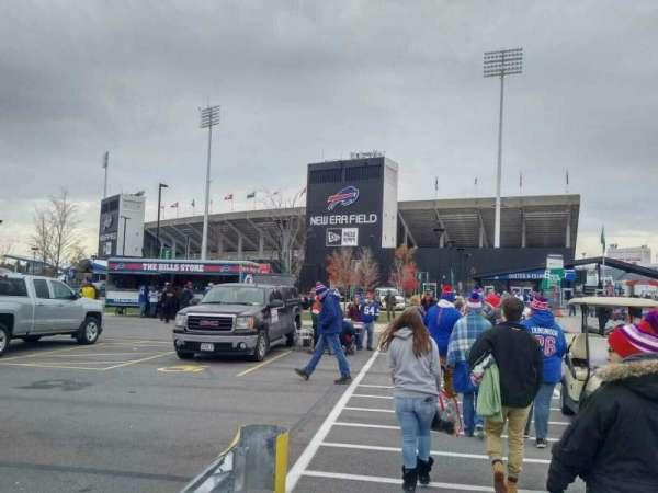 Highmark Stadium, section: exterior