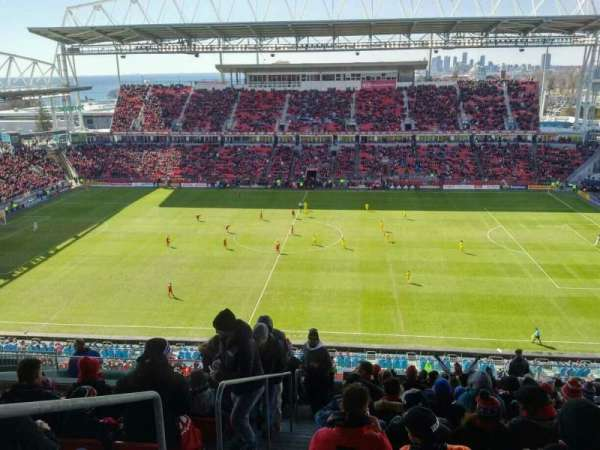 BMO Field, section: 206, row: 18, seat: 30