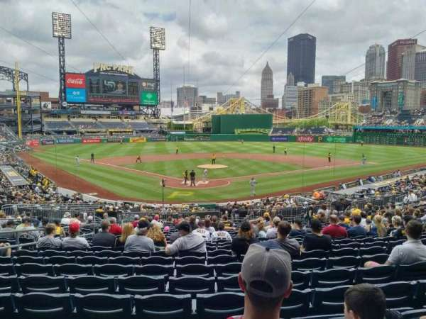 PNC Park, section: 115, row: W, seat: 24