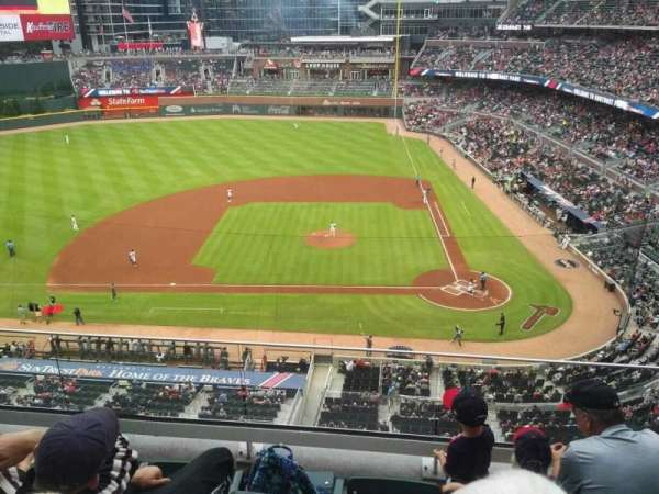 SunTrust Park, section: 330, row: 4, seat: 13