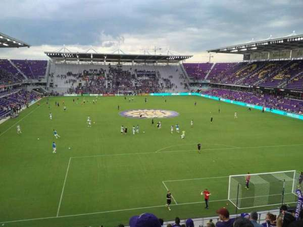Orlando City Stadium, section: 105, row: L, seat: 19